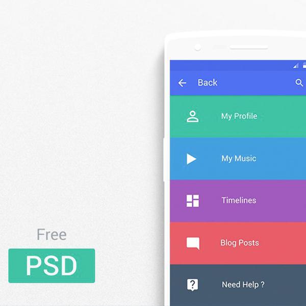 PSD Landing page